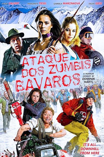 Filme Poster O Ataque dos Zumbis Bávaros