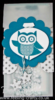 Cute Owl Occasions Party Invite by Stampin' Up! Demonstrator Bekka Prideaux - check out her blog for loads of great ideas
