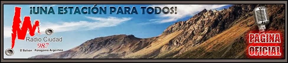 RADIO CIUDAD-  El Bolsón - 98.7 Mhz - WEB OFICIAL  2015 #Radiociudad987