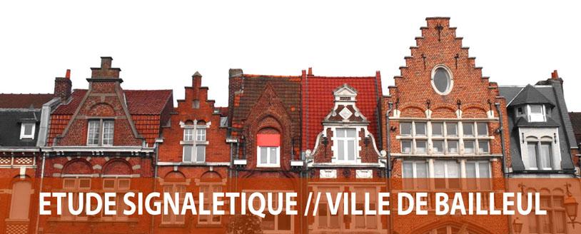 Etude signalétique ville de Bailleul - Axone Environnement