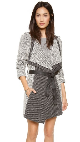 Axen Hooded Coat by: BB Dakota @Shopbop