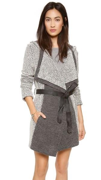 Axen Hooded Coat by: BB Dakota @Shopbop