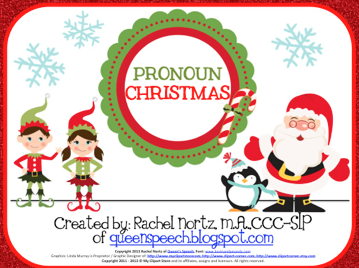 http://www.teacherspayteachers.com/Product/Pronoun-Christmas-1003616
