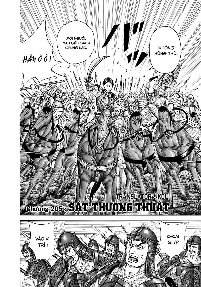 Kingdom - Vương Giả Thiên Hạ Chapter 205 page 3 - IZTruyenTranh.com
