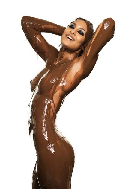 Naked chocolate cover women picture site