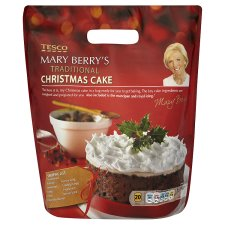 Mary Berry Christmas Cake Mix Tesco