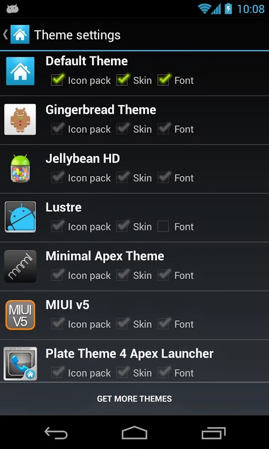 Apex Launcher Pro v2.6.1 Final