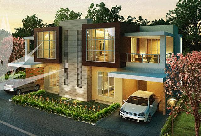 Gambar Desain Rumah 2 Lantai Modern Minimalis 2014