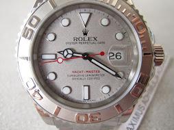 ROLEX YACHT MASTER - ROLEX 16622 STEEL PLATINUM - SERIE Z YEAR 2007