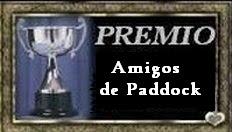 """Premio """"Amigos de Paddock"""""""