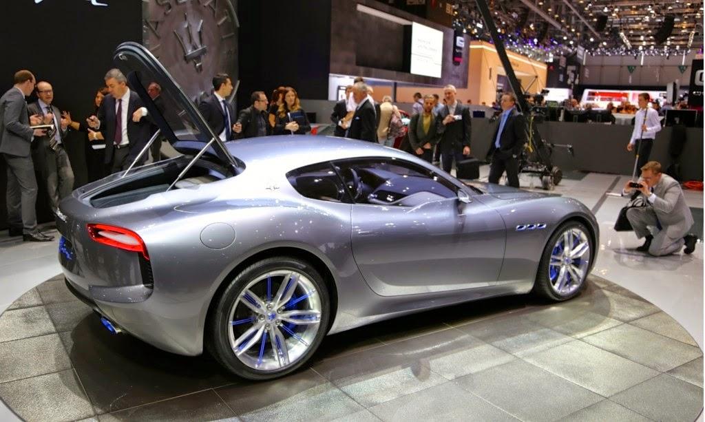 Maserati Alfieri concept, noticias del motor