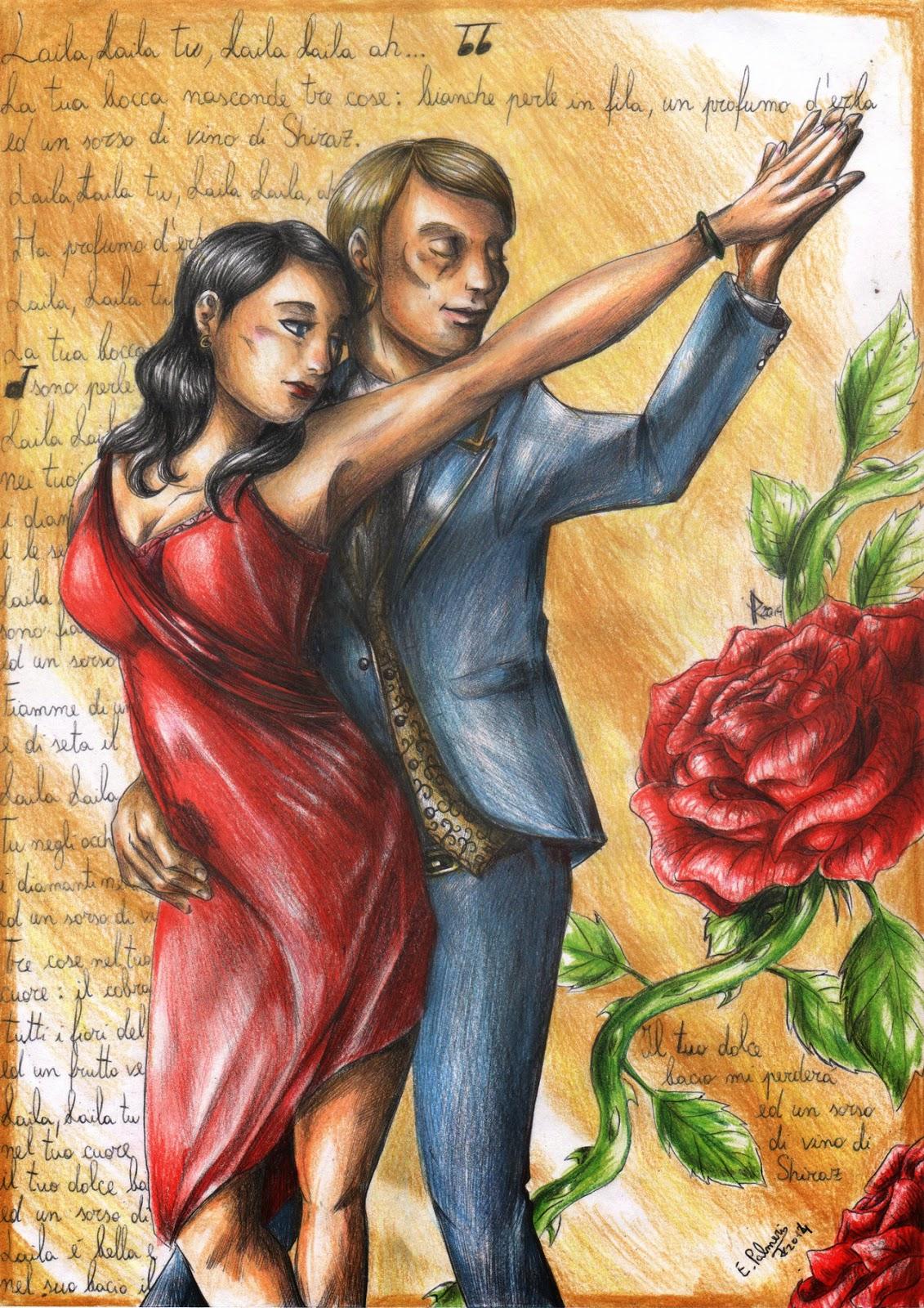 http://furiarossaandmimma.deviantart.com/art/Hannibal-Dancing-433088343