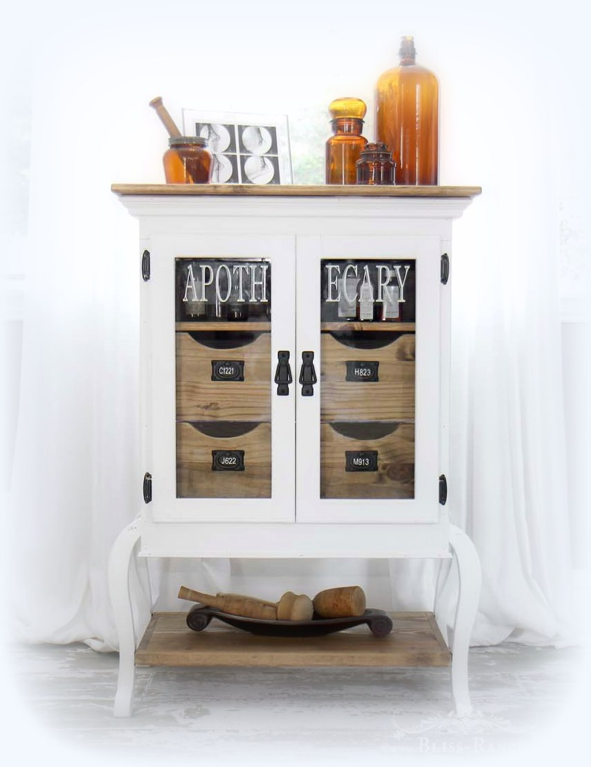 Bliss Ranch Vote Apothecary Cabinet Ikea Hack