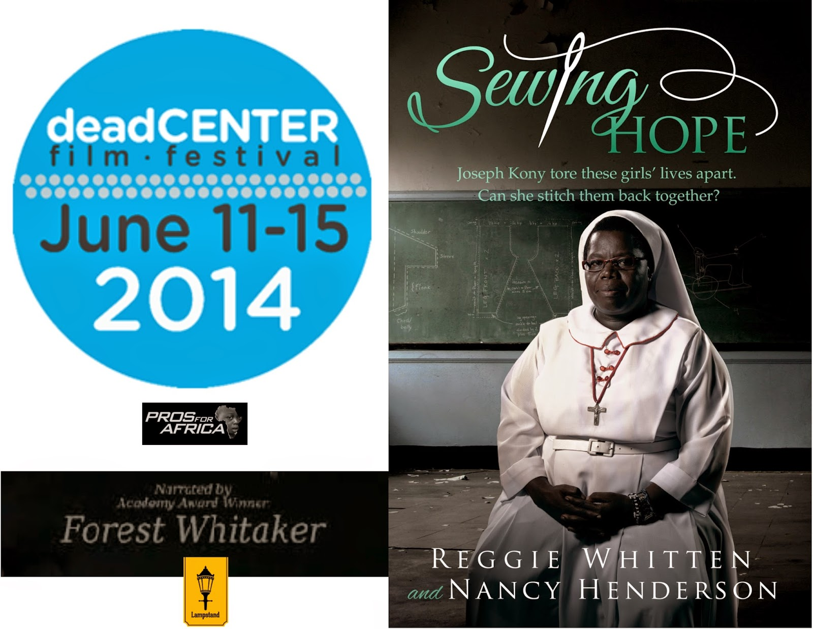 """""""SEWING HOPE"""" documentary film - Sister Rosemary Nyirumbe's life --- deadCENTER Film Festival - OKC - June 14th & 15th 2014"""