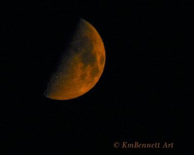 Moon photo 05 KmBennettArt
