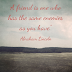 Abraham Lincoln Quote About Frienship!!