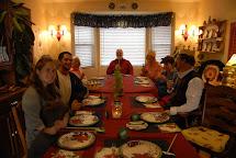 Italian Family at Dinner Table