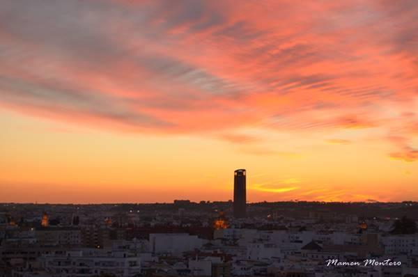 Atardecer en Sevilla febrero 2015