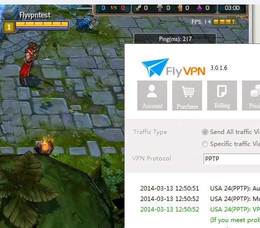 Fix League of Legends Firewall Bug With FlyVPN - 3