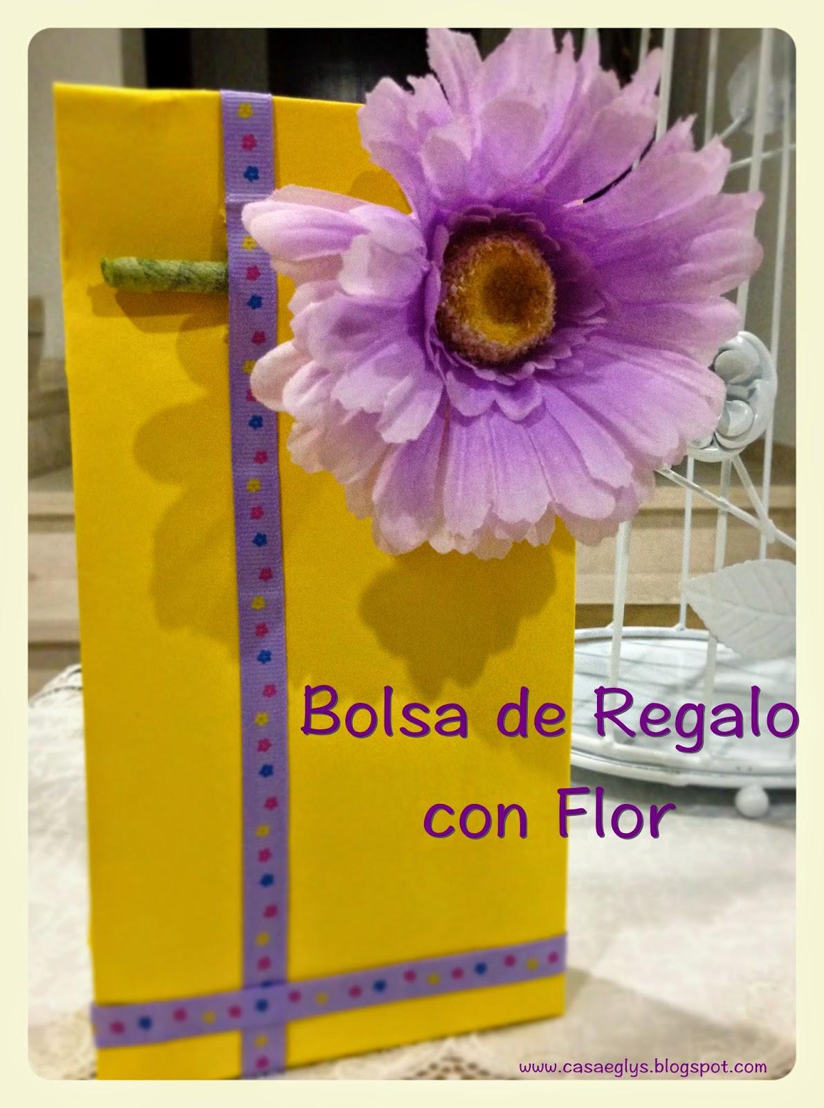 Casa eglys diy empaquetado bonito bolsa de regalo con flor - Empaquetado de regalos ...