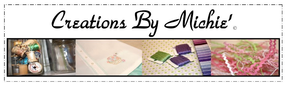 Creations By Michie` Blog