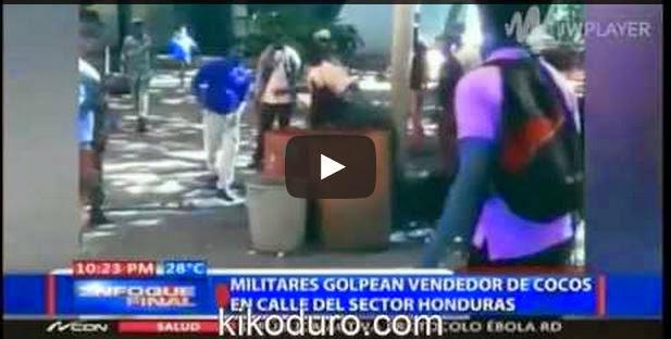 Rebu' entre policias Dominicanos defendiendo un Haitiano