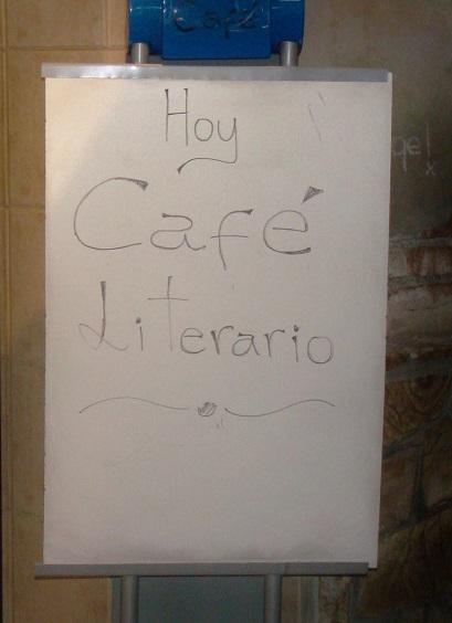 Café Literario del Grupo Literario Tardes de la Biblioteca Sarmiento