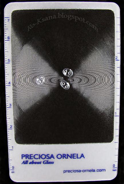 My Сzech beads competition gift magnifier Увеличительная линза с логотипом Preciosa Ornela