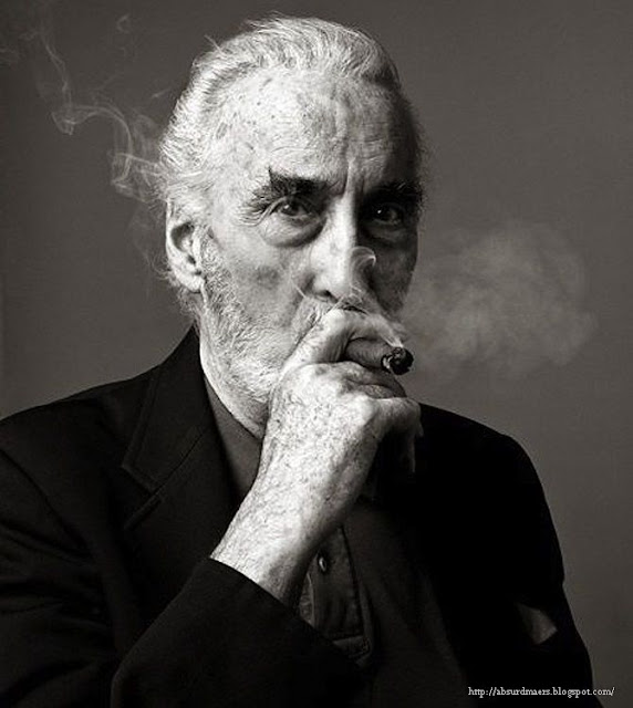 Christopher Lee was the only person involved with the Lord of the Rings films to have actually met Tolkien himself