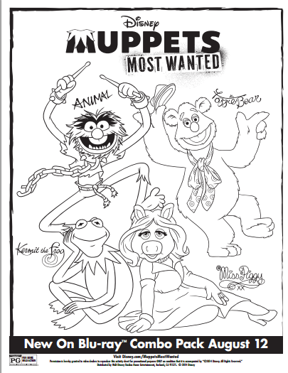 miss piggy coloring pages muppets - photo#36
