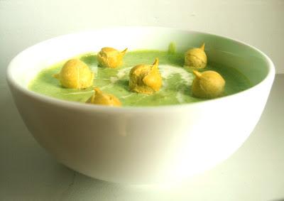 Zupa groszkowa zielona