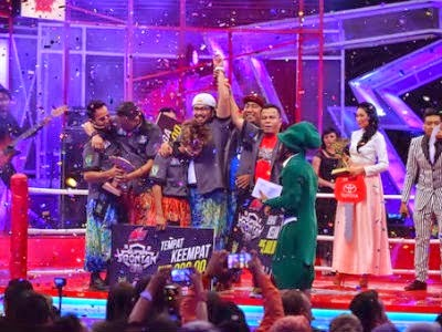 Johan Raja Lawak Dinobatkan Juara Super Spontan 2014