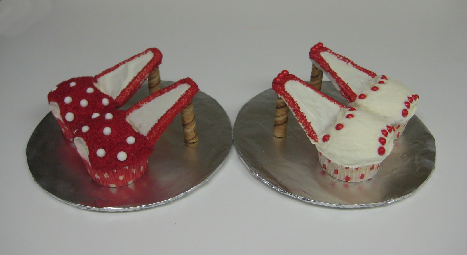 my cake corner high heel cupcakes june 2012