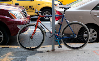 SE, draft,  bike, bicycle, the biketorialist, biketorialist, single speed, fixed speed, fixie, new York, NY , new York city, USA Rd, red, frame, velocity , tim macauley, timothy macauley, model, frame