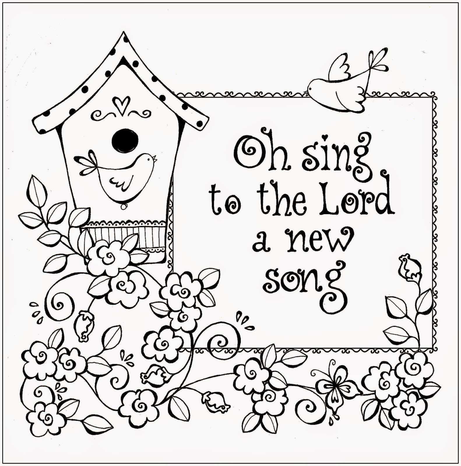 Free Coloring Sheet Christian Coloring Sheets