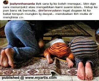 Foto Dimuat Naik Isteri Johan Raja Lawak Cetus Kontroversi