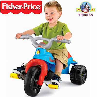 Plastic Fisher Price Thomas and friends ride on for toddler toy Tough trike great extremely strong