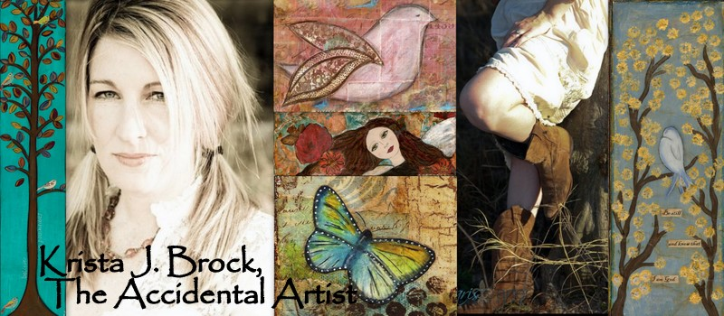 Krista J Brock, The Accidental Artist