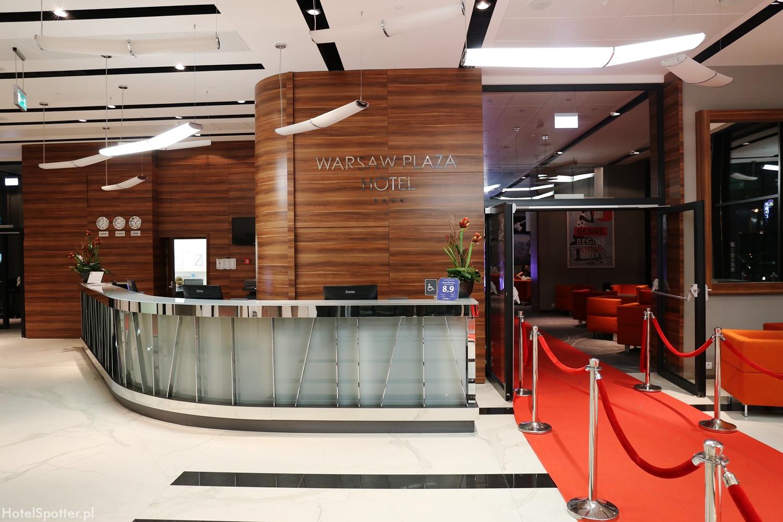 Warsaw Plaza Hotel - recepcja