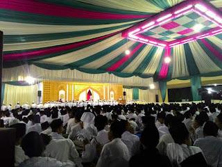Ribuan Muslimin Hadiri Haul Masyayikh Pondok Pesantren Lirboyo