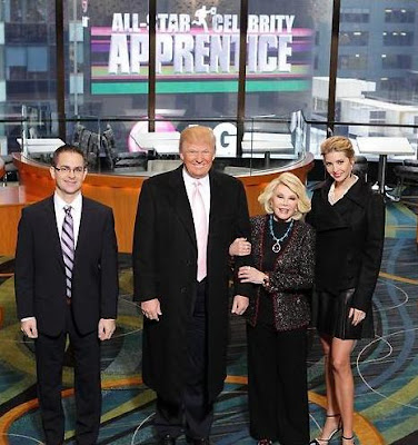 LG Exec, Donald Trump, Joan Rivers, Ivanka Trump on All-Star Celebrity Apprentice