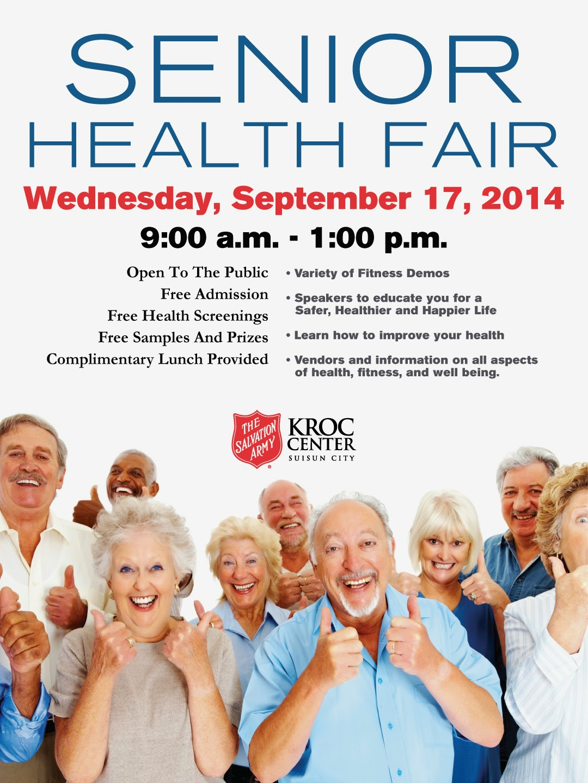 Senior Health Fair Senior Health Fair Today