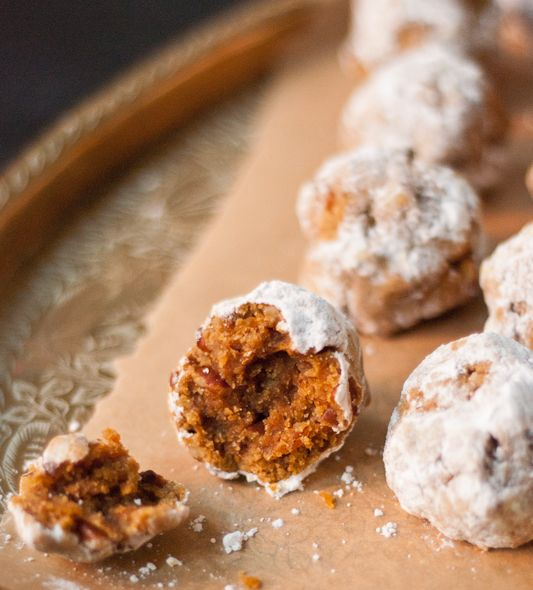 ... Cooking for a Healthy Future: Pumpkin Pecan (Mexican Wedding Cookies