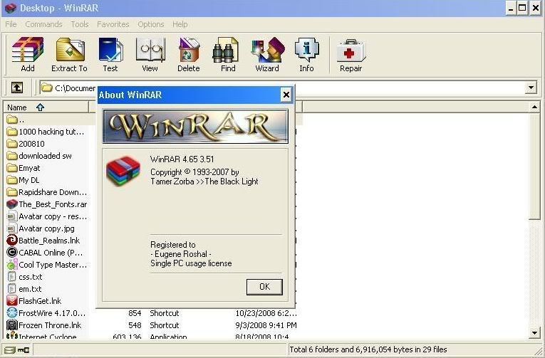 WinRAR for Windows XP - Download WinRAR full version for free