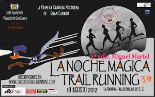 La noche mágica Trail Running