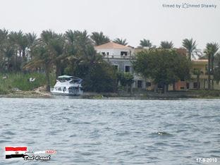 ارض على النيل موقع رائع بمرسى خاص