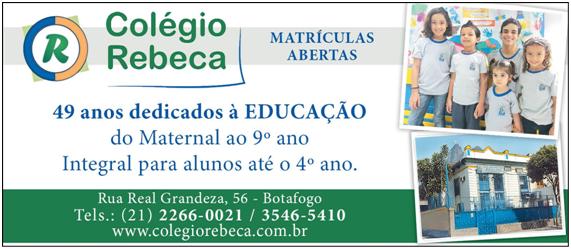 49 anos do Colégio Rebeca