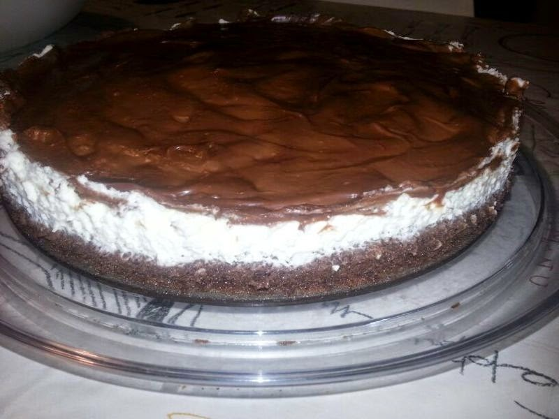 עוגת שוקולד עם קצפת בטעם קפה