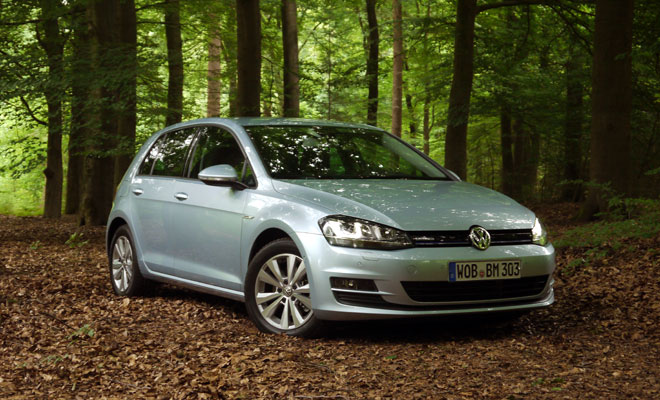 VW Golf 7 BlueMotion front view