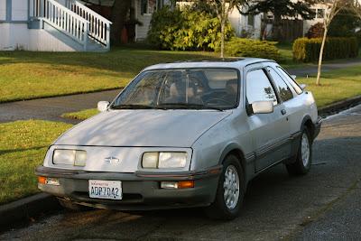 1986 Merkur XR4Ti.